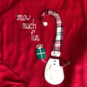 "Gymboree Pajamas - Christmas Pajamas Set, Gymboree ""SNOW MUCH FUN"""